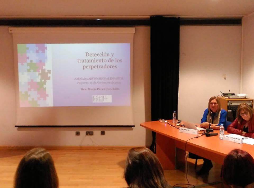 Jornada de Abuso Sexual Infantil. Paiporta (Valencia)